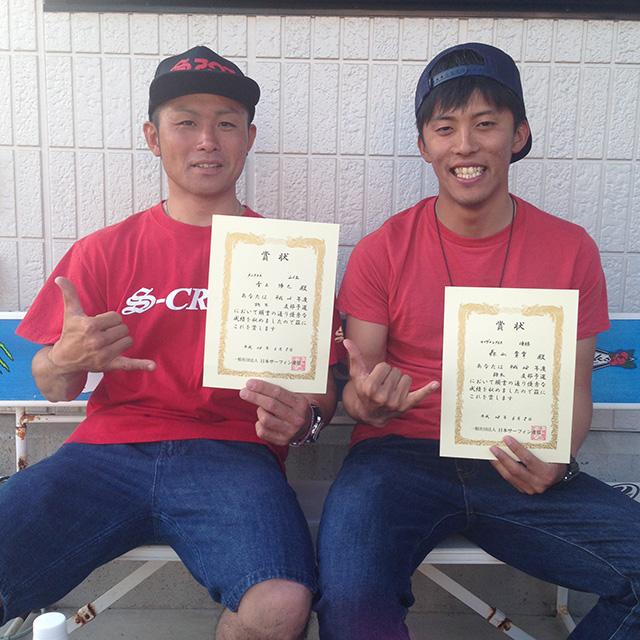 RESTARTライダー青木君が2位で予選通過