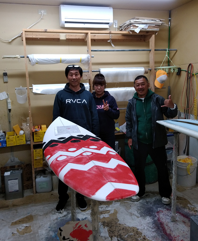 栃木県のSticksサーフのオーナーが遊びに来て下さいました!