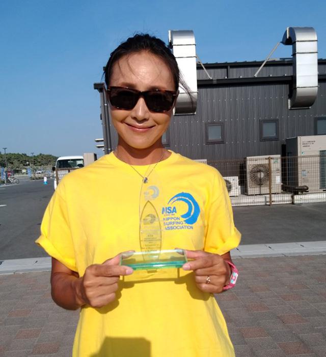 荻原浩子さんが全日本選手権シニアウィメンクラスで4位入賞!